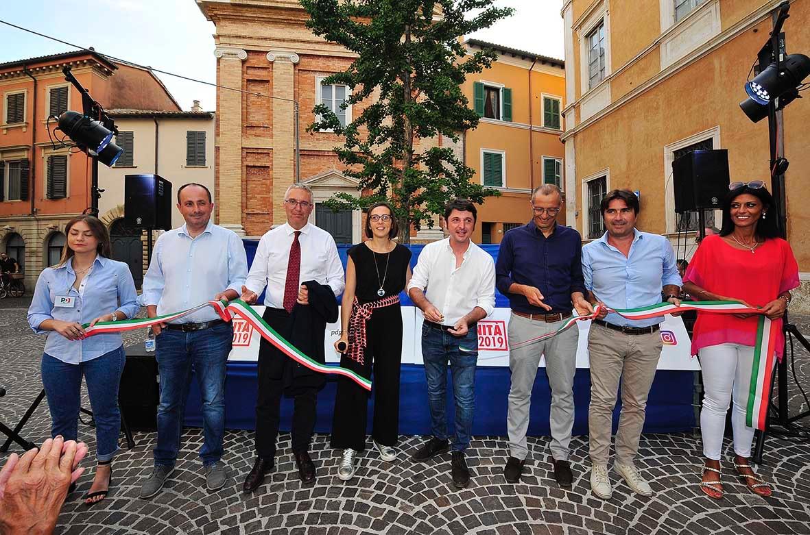 Matteo Ricci apre Festa Unità Pesaro 2019: dal Parlamento lezione democratica a Salvini
