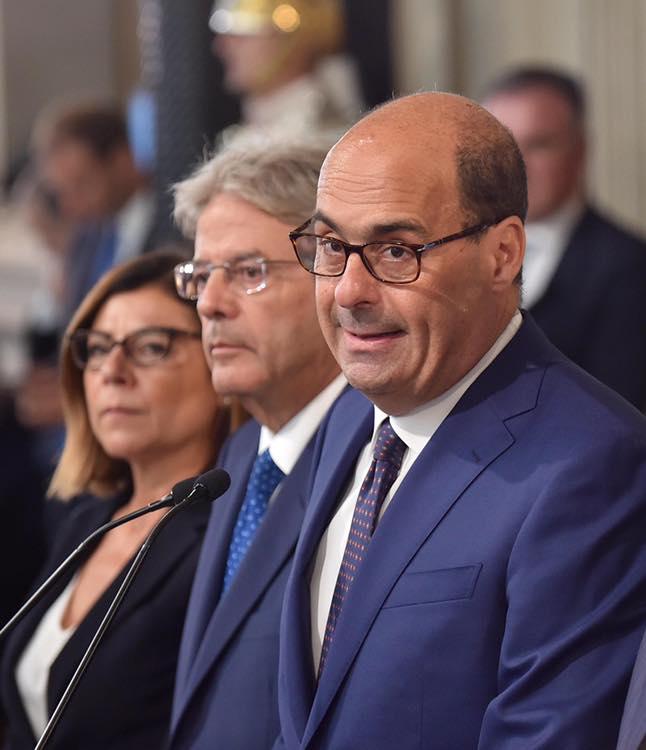 Il Segretario Zingaretti impegnato a Roma, Matteo Ricci al suo posto per fare il punto sul governo in formazione